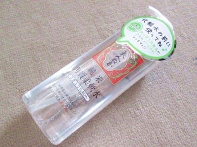 美人ぬか純米角質柔軟水
