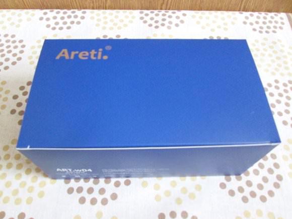 アレティ電動クレンジングブラシの箱